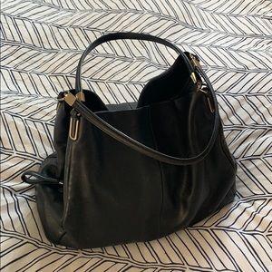 Coach Large Madison Phoebe Leather Shoulder Bag